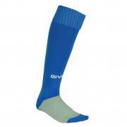 calza calcio azzurro