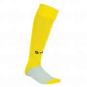 calza calcio giallo