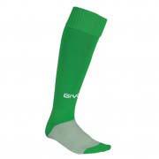 calza calcio verde