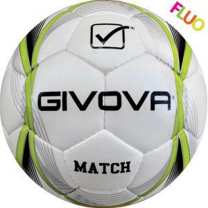pallone match giallo fluo-nero