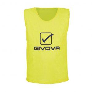 casacca pro allenamento giallo