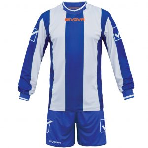 kit line azzurro-bianco